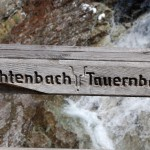 Waterfall in Austria: Tauernbachwasserfall
