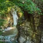 Waterfall in Austria: Taugl wasserfall