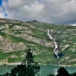 Tjornadalsfossen, Sandvin/Odda, Hordaland