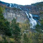 Waterfall in Norway: Tjornadalsfossen