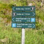 Tjugenfossen-sign