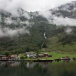 Tuftofossen, Naeroyfjord, Sogn og Fjordane