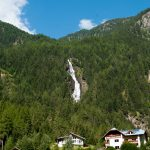 Waterfall in Austria: Tumpener wasserfall
