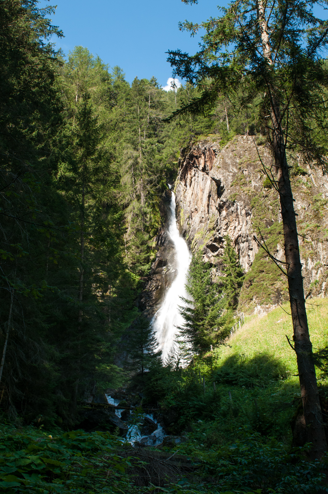 Waterfall in Austria: Tumpener wasserfall