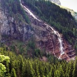 Waterfall in Switzerland: Tungelschuss