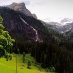Waterfall in Switzerland: Tungelschuss