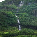 Waterfall in Norway: Tunnshello, Tunnshellefossen, Tunneshelle