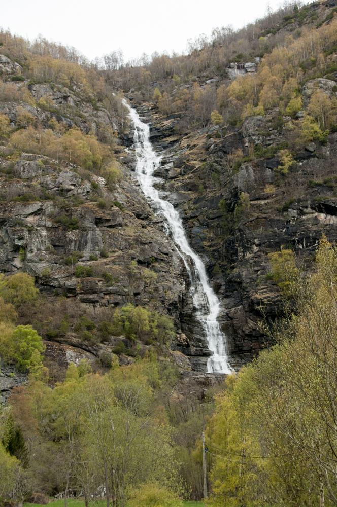 Waterfall in Norway: Turlifossen, Bjørgofossen, Fossadrevet