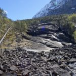 Waterfall in Norway: Tveitafossen