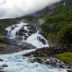 Tveitafossen, Husedalen/Kinsarvik, Hordaland