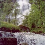 Waterfall in Norway: Tvinnefossen, Tvindefossen, Trollafossen