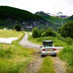 Tyssefossen-road