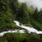 Waterfall in Austria: Umbalfalle