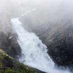 Valursfossen, Hjolmodalen/Ovre Eidfjord, Hordaland