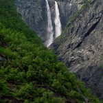 Waterfall in Norway: Vedalsfossen