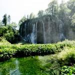 Waterfall in Croatia: National Park Plitvička jezera (Plitvice lakes): Veliki Prstava