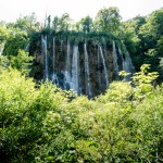 Waterfall in Croatia: National Park Plitvička jezera (Plitvice lakes): Veliki Prstava