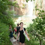 Waterfall in Croatia: National Park Plitvička jezera (Plitvice lakes): Veliki slap