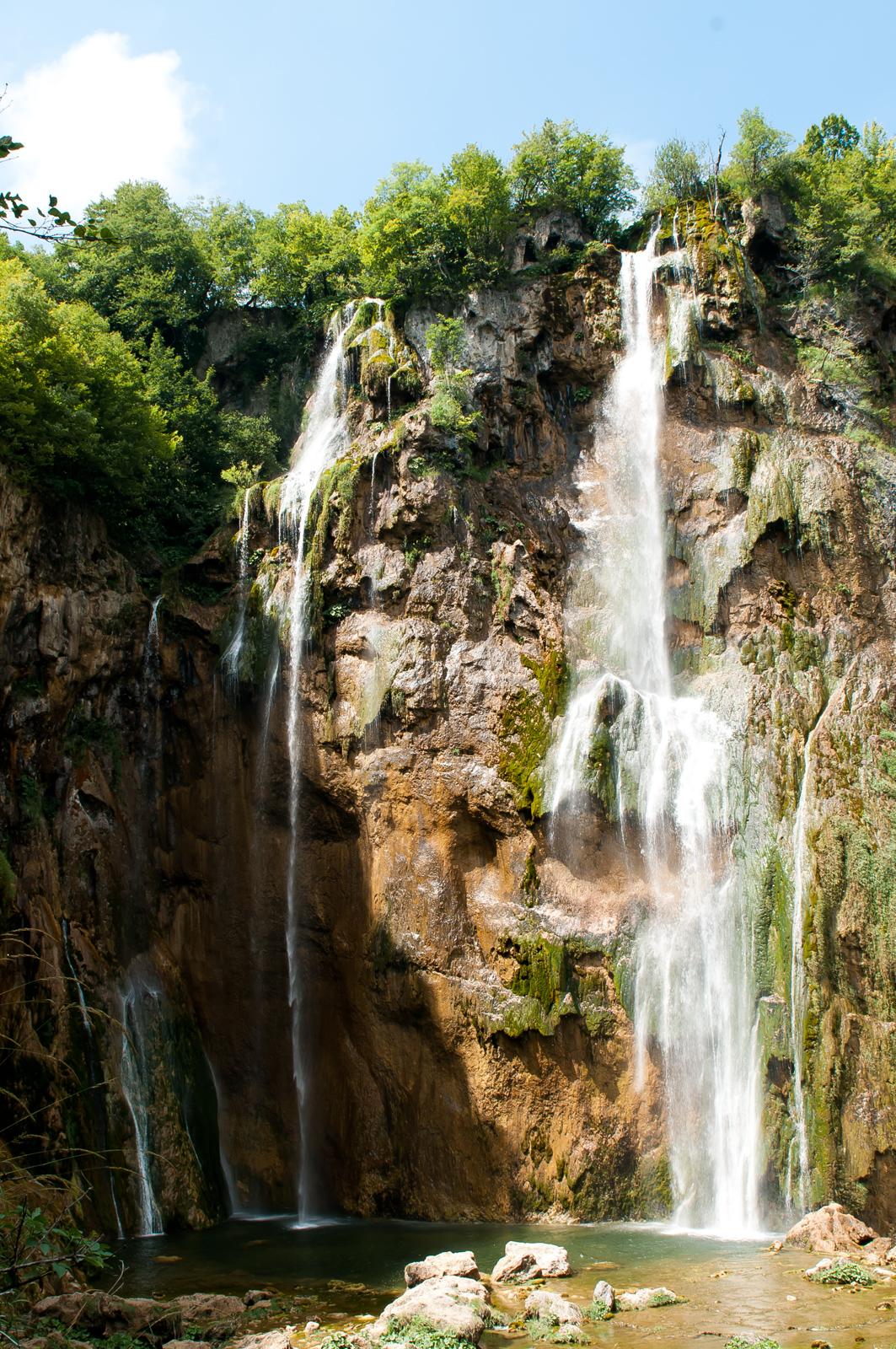 Plitvice Lakes National Park: Plitvice: Veliki Slap