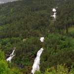 Waterfall in Norway: Vermafossen