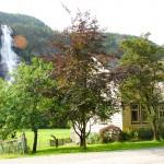 Waterfall in Norway: Vidfoss, Hildal, Odda, Hordaland
