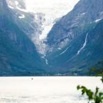 Waterfall in Norway: Volefossen