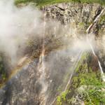 Waterfall in Norway: Vøringsfossen