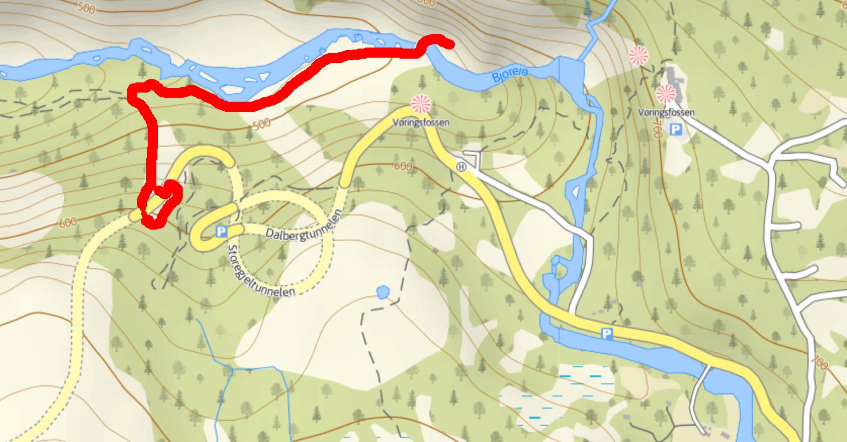 Voringfossen_walk