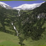 Walcher wasserfall, highest waterfall of Austria