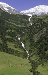 Highest waterfall Austria: Walcher wasserfall