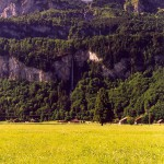 Waterfall in Switzerland: Wandelbachfalle