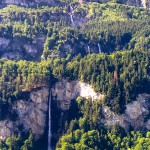 Waterfall in Switzerland: Wandelbachfalle