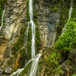 Waterfall in Austria: Wimbachklamm