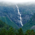 Waterfall in Norway: Ytste Mardolafossen